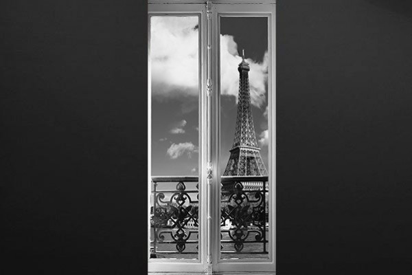 Sticker porte tour eiffel izoa for Stickers tour eiffel chambre