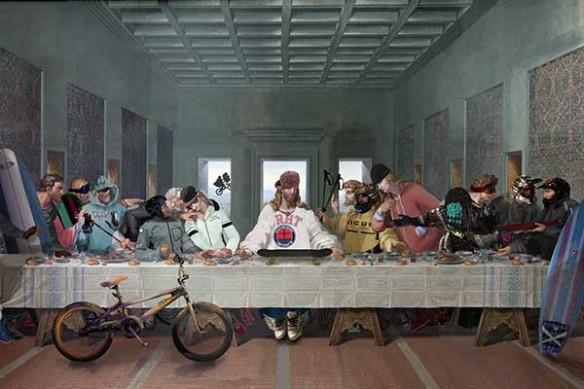 la cene jesus et les apotres x games