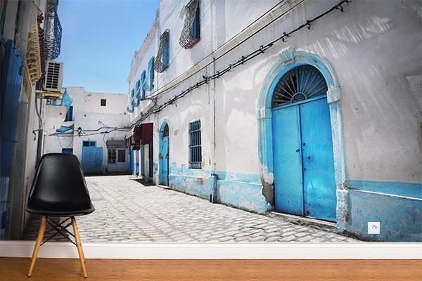 papier peint trompe l oeil rue tunisienne izoa