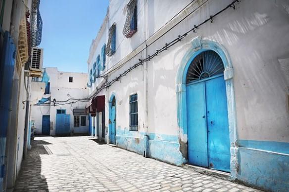 deco murale trompe l'oeil Rue Tunisienne