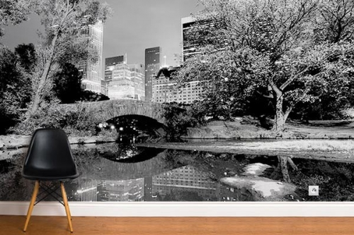 Papier peint new york Central Park