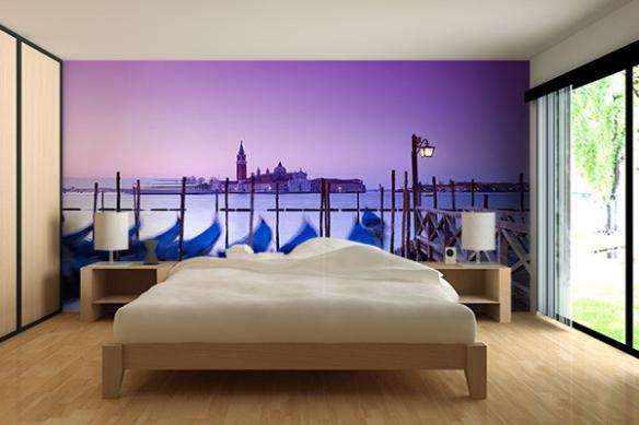 Papier Peint Photo Gondoles de Venise
