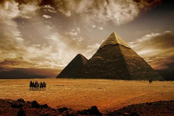 Papier Peint décoration Pyramides