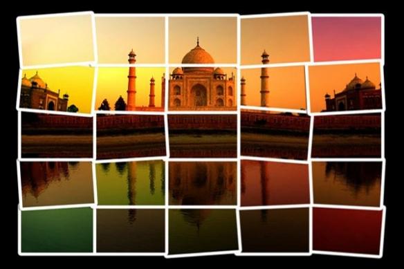 Paier Peint design Taj Mahal