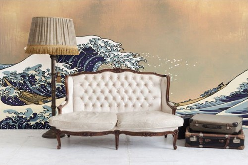 Papier Peint design La Vague