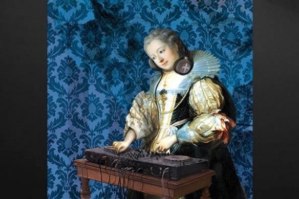 Tableau baroque DJ Barok