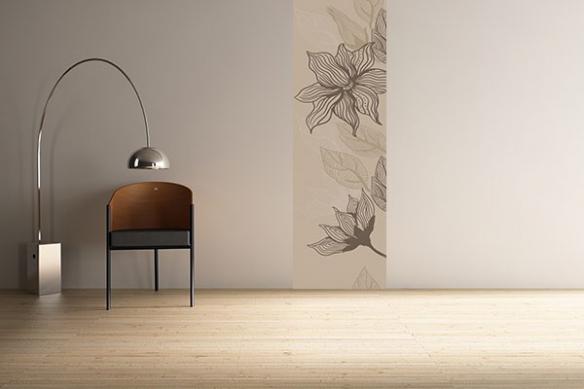 Papier peint zen Bégonia