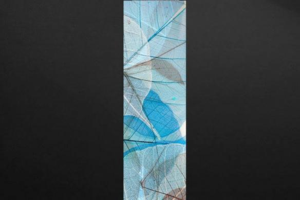 Papier peint deco mur Boréale bleu