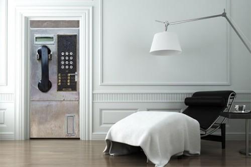 décoration Porte telephone