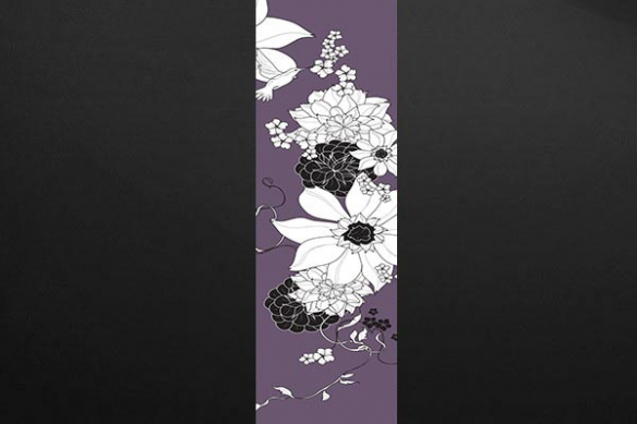 Poster mural lé Colibri violet