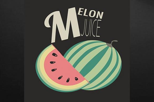 Tableau cuisine design Melon