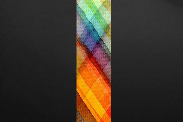 Lé Papier peint design Arco iris