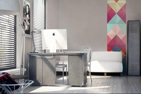 papier peint vintage coaxial izoa. Black Bedroom Furniture Sets. Home Design Ideas