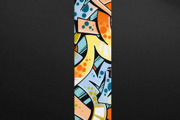 decoration hip hop tag mur