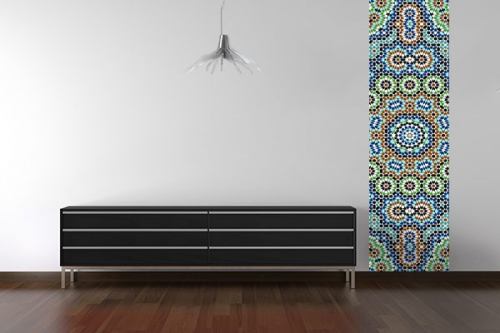 poster mural kaleidoscope izoa. Black Bedroom Furniture Sets. Home Design Ideas