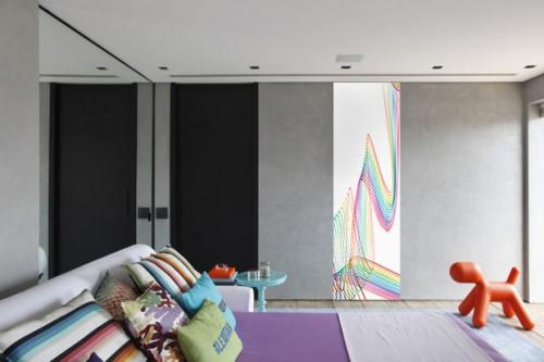 Papier peint chambre mur