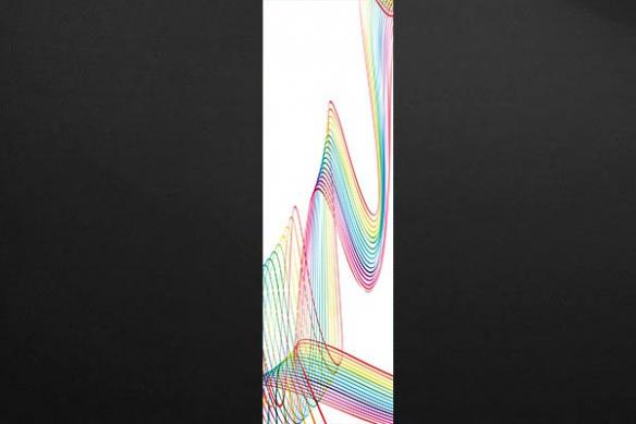 Papier peint deco mur Twist