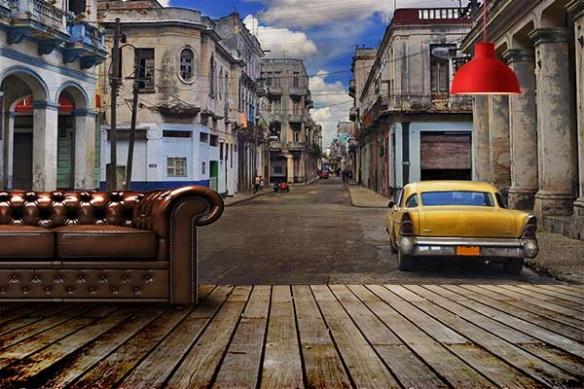 Déco murale Cuba