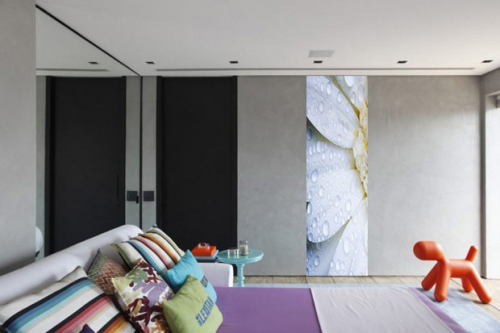 tapisserie chambre fleur Pistile
