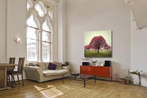 Déco murale feuillage d'automne