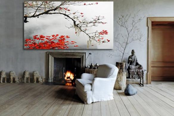 Toile Deco Design Bayou
