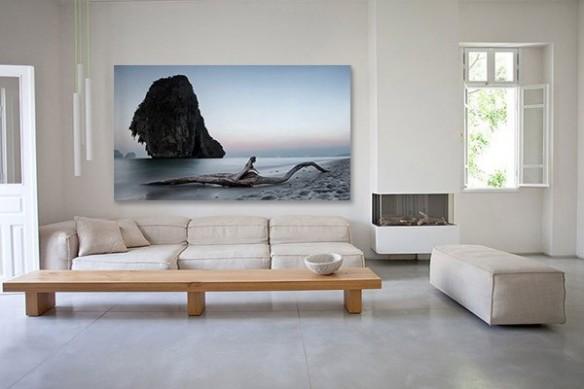 Toile décoration murale Vent marin
