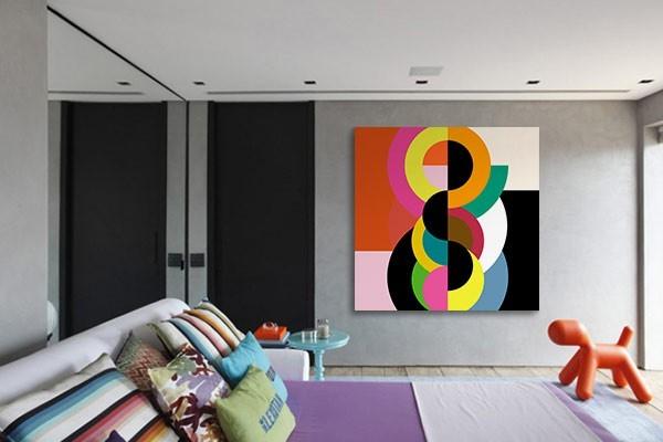 tableau design abstrait bulbick. Black Bedroom Furniture Sets. Home Design Ideas