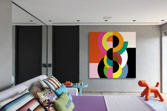 Tableau design Abstrait Bulbick