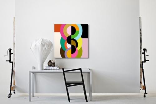 Tableau décoratif abstrait Cara