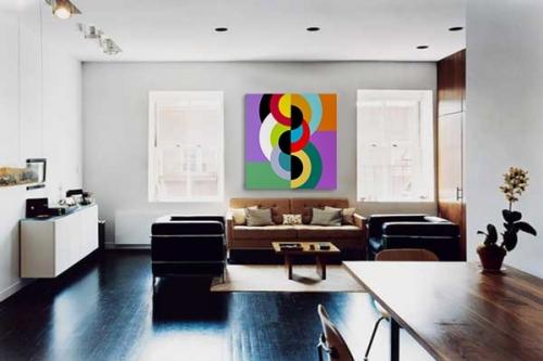 Tableau design Cercle infernal