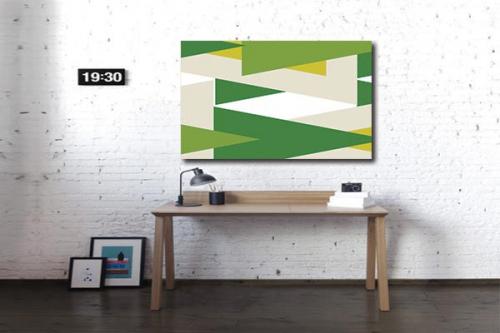 Tableau design large direction vert