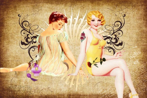 Pin up retro vintage