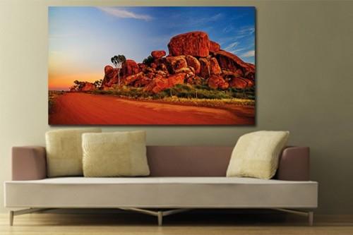 Tableau décoration Rochers Australiens