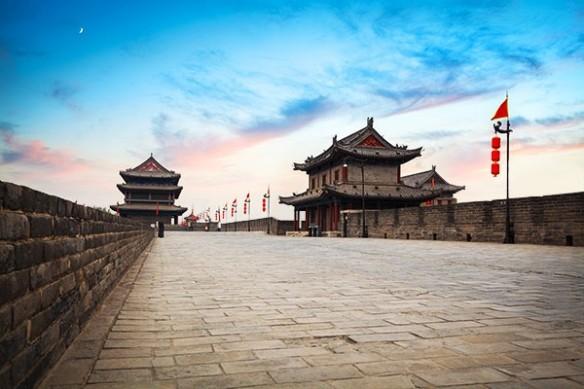 Tableau paysage chine