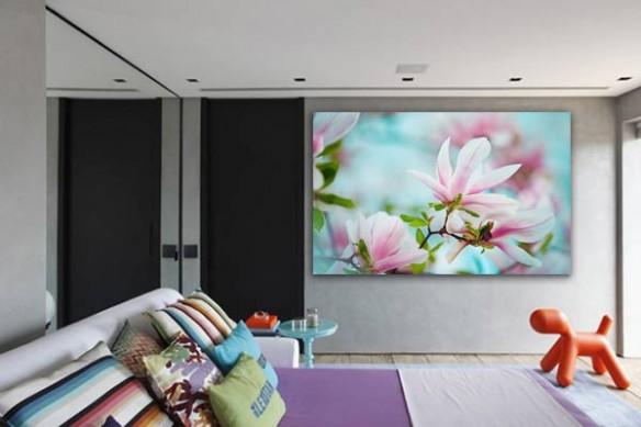 Tableau déco Magnolia en fleur
