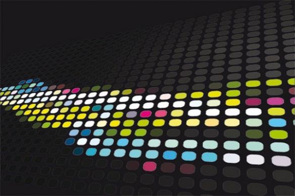 Tableau abstrait Colors