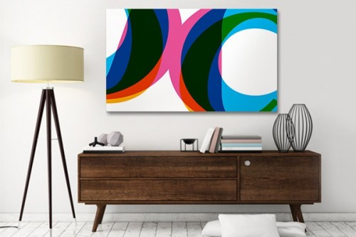 Tableau abstrait C Design