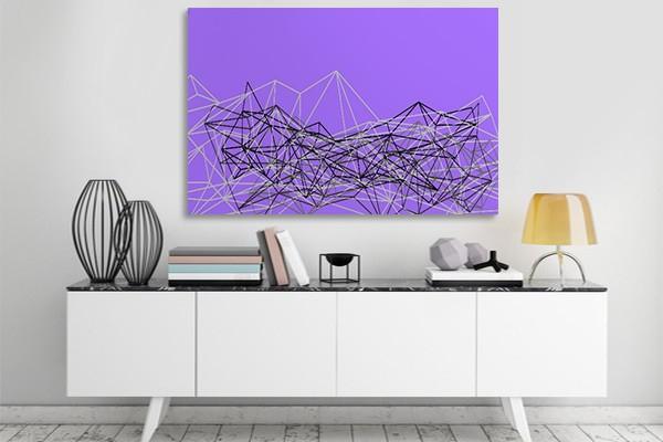 tableau design coma d coration style scandinave. Black Bedroom Furniture Sets. Home Design Ideas