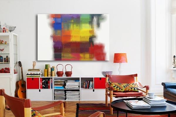 tableau d coration multicouleurs. Black Bedroom Furniture Sets. Home Design Ideas