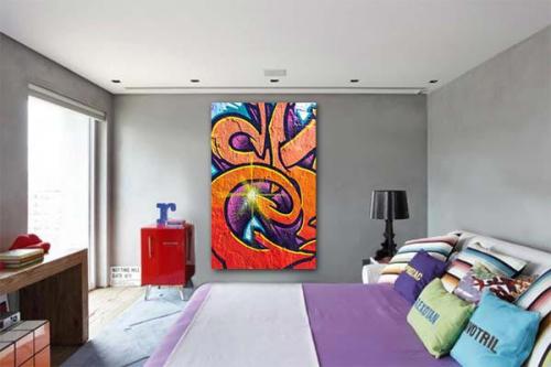 Tableau abstrait Chatawak
