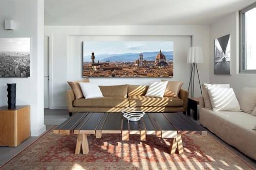 Tableau contemporain Florence