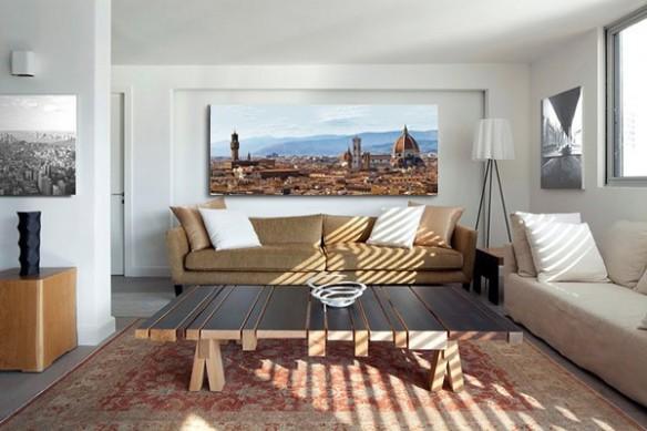 Tableau déco mur italie Florence