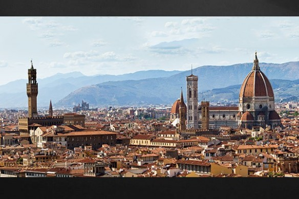 Tableau photo italie Florence