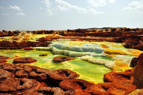 Décor mural paysage Ethiopie