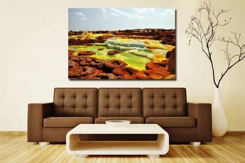 Tableau déco paysage Ethiopie