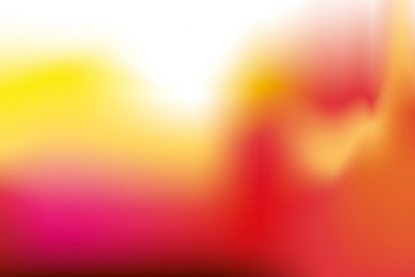 Tableau contemporain Résonance rose
