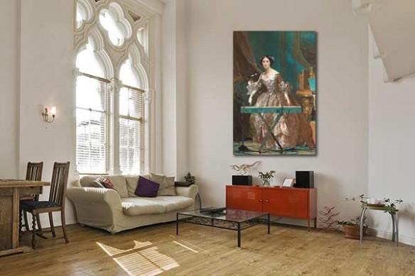 Déco romantique baroque originale