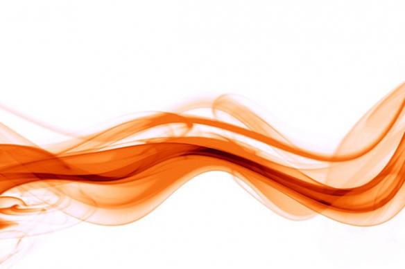 déco intérieur moderne orange