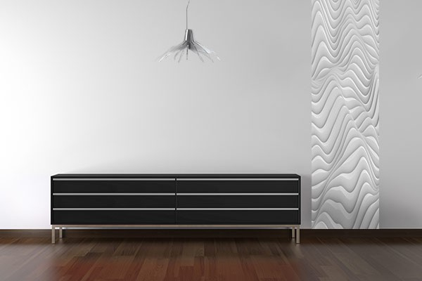papier peint original wave izoa. Black Bedroom Furniture Sets. Home Design Ideas