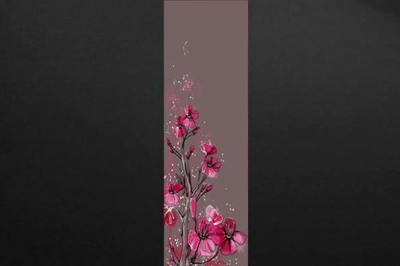 lé papier peint déco tendance fleur